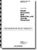 Health Promotion, Risk Reduction, and Suicide Prevention