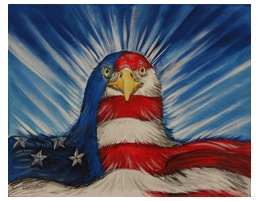 Vigilant Eagle by STEPHANIE BOWSTRING
