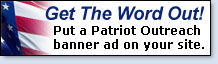 Patriot Outreach Banner ads