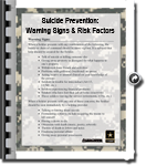 Suicide Prevention: Warning Sings & Risk Factors