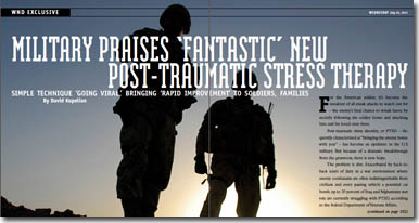 Military Praises New Treatment for PTSD