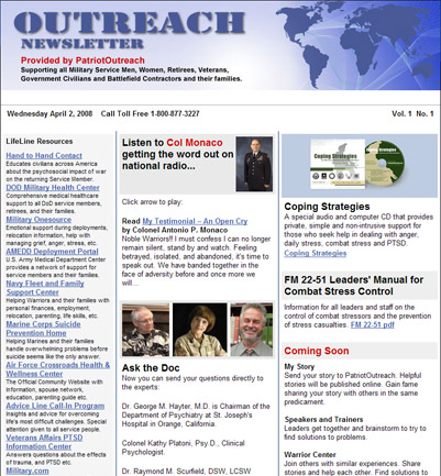 Outreach Email Newsletter