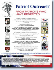 Patriot Outreach Flyer